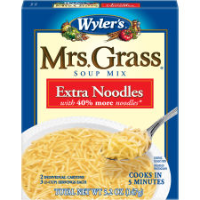 Wyler's Mrs. Grass Extra Noodles Soup Mix, 5.2 oz Box