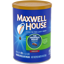 Maxwell House Decaf Original Medium Roast Ground Coffee 11 oz Can