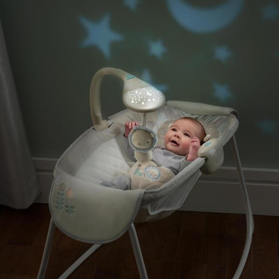 Moonlight Rocking Sleeper™ - Lullaby Lion™