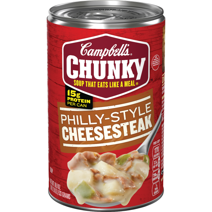 Philly Style Cheesesteak Soup
