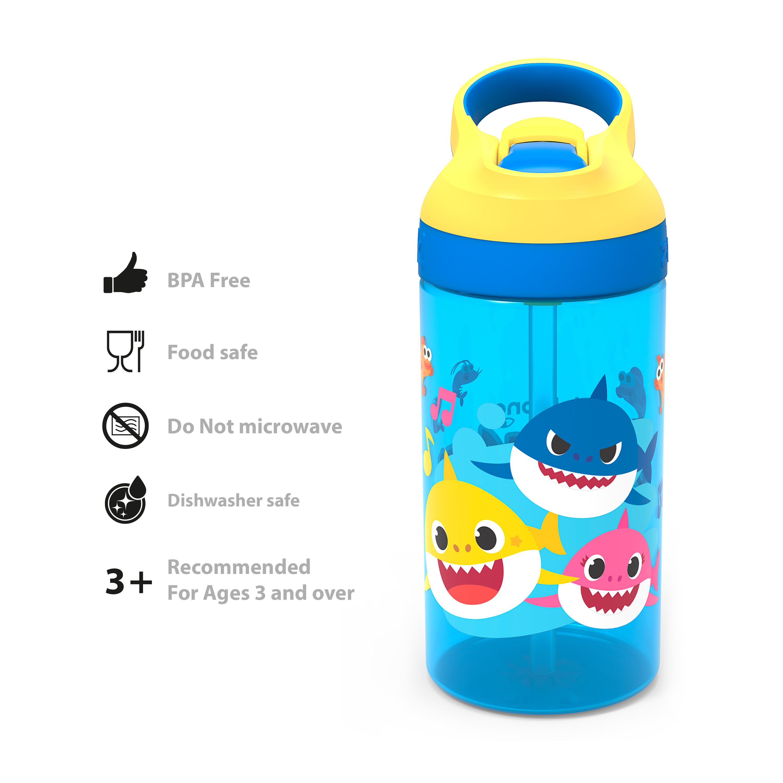 Baby Shark 16 ounce Water Bottle, Underwater Friends slideshow image 6