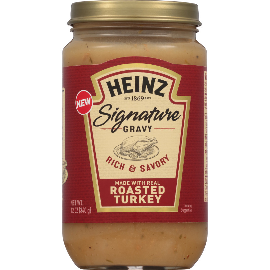 Heinz Signature Roasted Turkey Gravy, 12 oz Jar image
