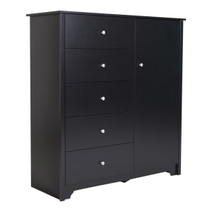 Vito - Door Chest with 5 Drawers