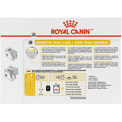 Royal Canin Canine Care Nutrition Sensitive Skin Care Pouch Dog Food