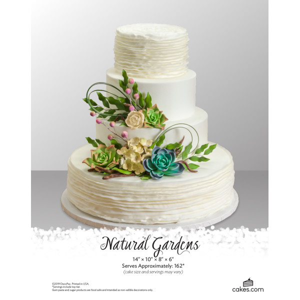 Natural Gardens Wedding The Magic of Cakes® Page