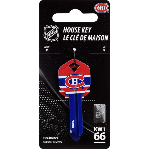 NHL Montreal Canadiens Key Blank