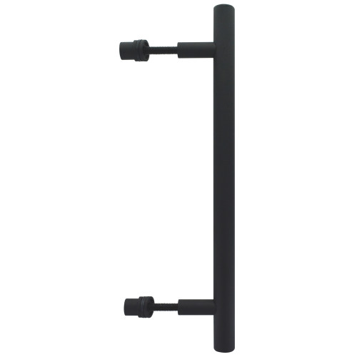 Black Interior Barn Door Handle