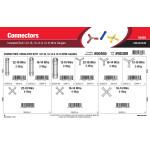 Insulated Butt Connectors Assortment (22-18, 16-14 & 12-10 Wire Gauges)