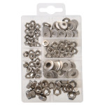 Stainless Steel Nuts and Washers Kit