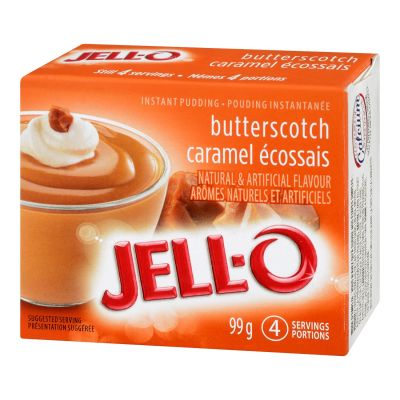 Jell-O Butterscotch Instant Pudding Mix