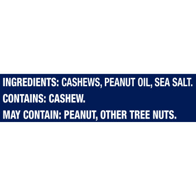 Planters Deluxe Whole Cashews, 12 - 2.25 oz Bags