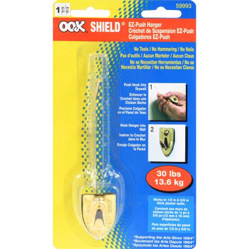 OOK Shield EZ Push Single Hanger 30lbs