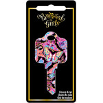 Pampered Girls - Butterflies Key Blank
