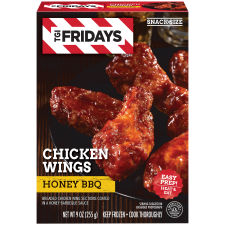 TGI Friday's Chicken Wings with Honey BBQ Sauce 9 oz Box