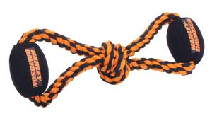 Harley-Davidson Plush and Rope Tug Dog Toy