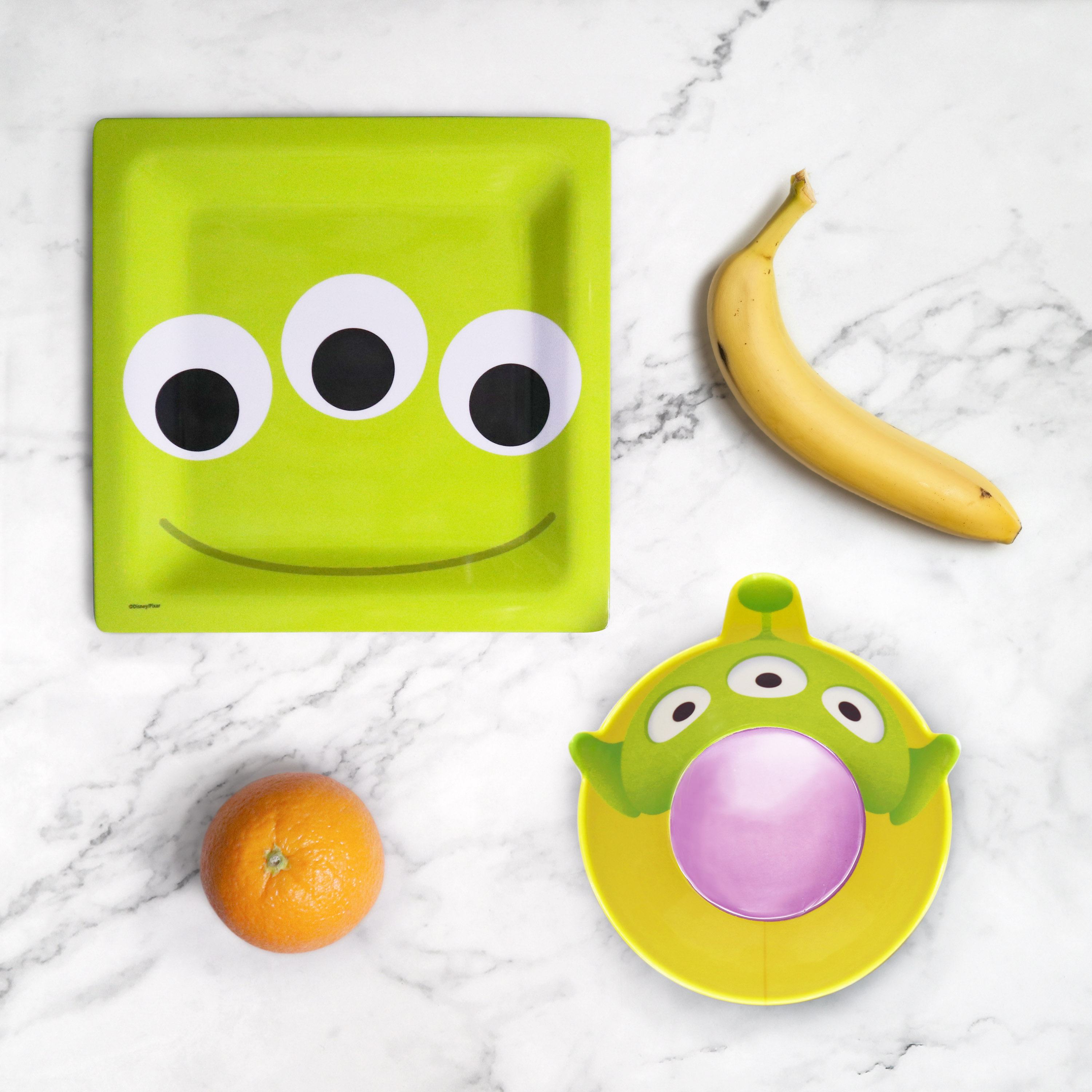 Disney and Pixar Plate and Bowl Set, Aliens, 2-piece set slideshow image 5
