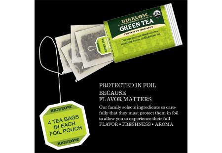 Caffeine meter for Green Tea 25-50 mg per serving