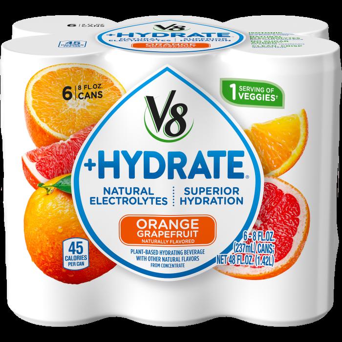 Plant-Based Hydrating Beverage, Orange Grapefruit