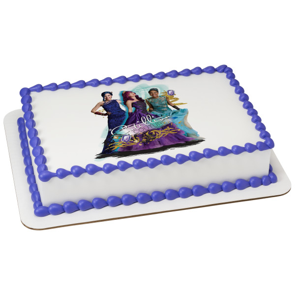 Descendants 2 Cotillion Couture PhotoCake® Edible Image®