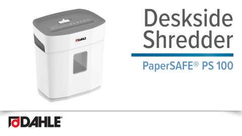 PaperSAFE® PS 100 Deskside Shredder Video