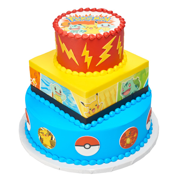 Pokémon™ Catch Them All! PhotoCake® Edible Image® Strips