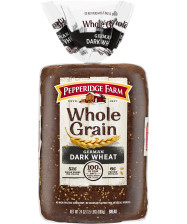 Pepperidge Farm® Whole Grain German Dark Wheat Bread, toasted