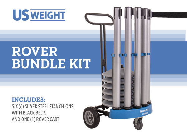 Rover Cart Bundle - Silver Steel 2