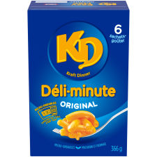 Kraft Dinner Easy Mac Original Macaroni & Cheese Snack Pouches