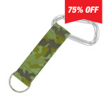 Carabiner Strap (Green Camo)