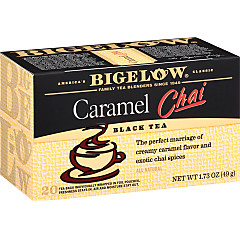 Caramel Chai Tea - Case 6 boxes- total of 120 teabags