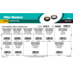 Brass & Stainless Steel Filter Washers Assortment