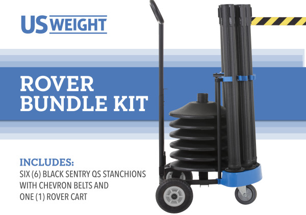 Rover Cart Bundle - Sentry QS with CYB 2