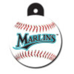 Florida Marlins Large Circle Quick-Tag