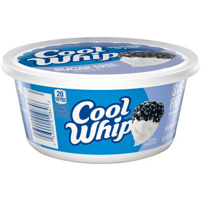 Cool Whip Sugar Free Whipped Topping 8 oz Tub