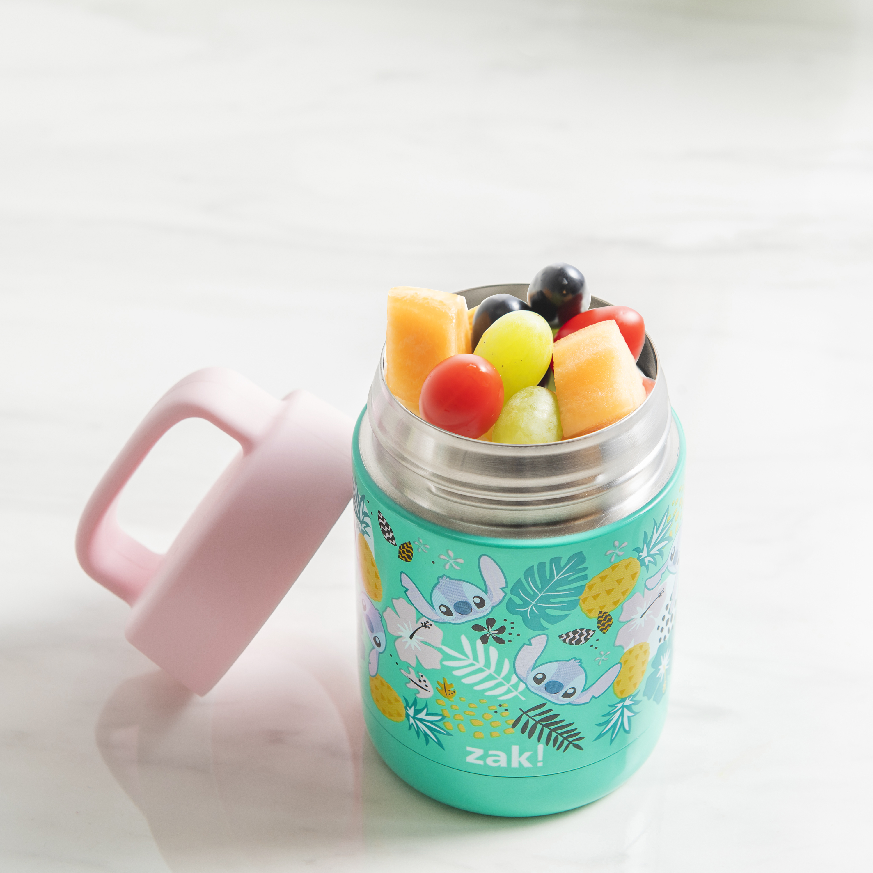 Disney Reusable Vacuum Insulated Stainless Steel Food Container, Lilo & Stitch slideshow image 9
