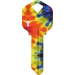 WacKey Tie-Dye Key Blank