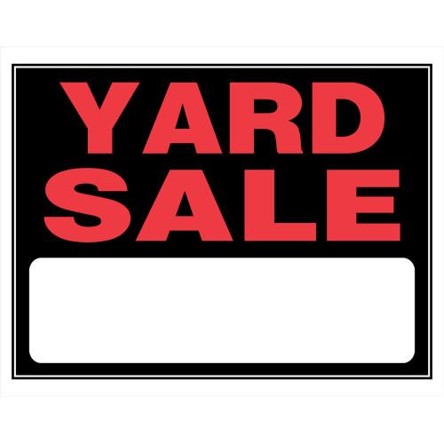 Hillman Yard Sale Sign 15