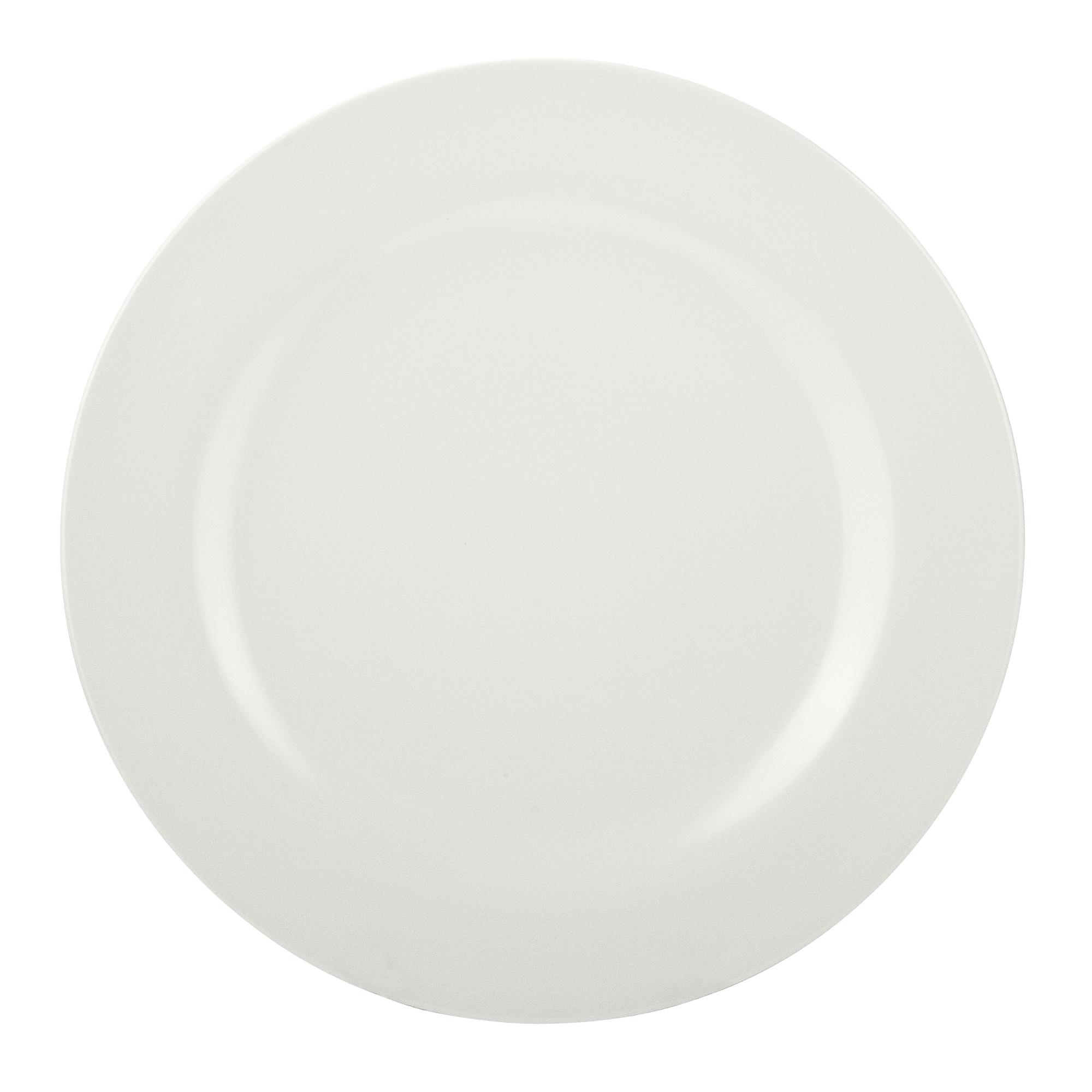 Ella Salad Plate, Eggshell White, 6-piece set slideshow image 9