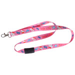 Pink Hello Kitty Lanyard