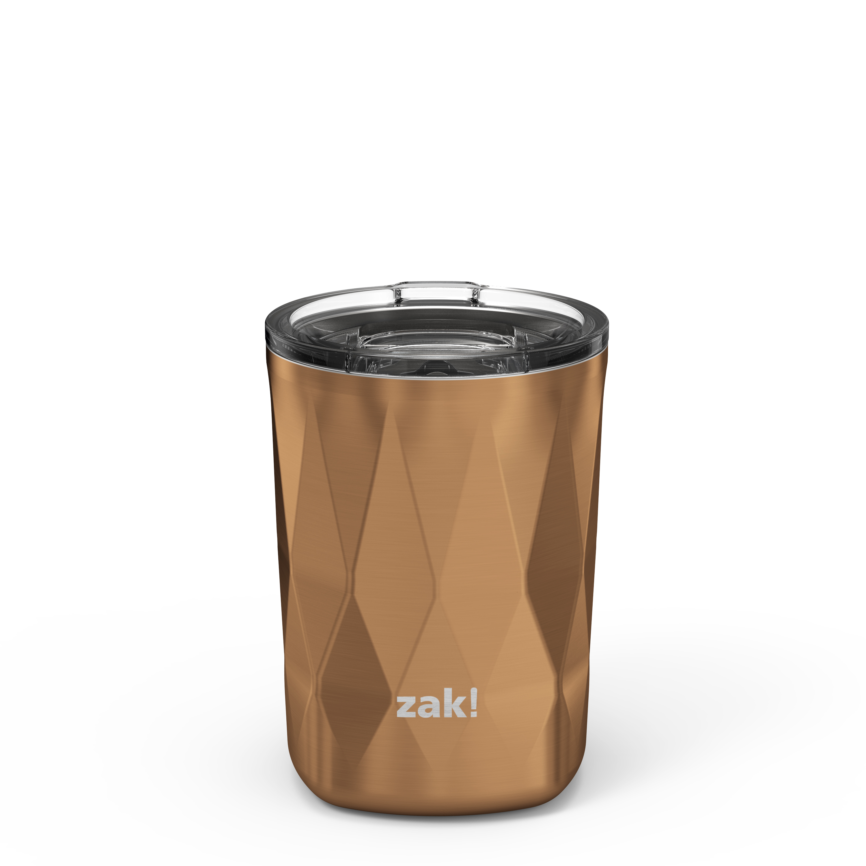 Fractal 13 ounce Vacuum Insulated Stainless Steel Tumbler, Copper slideshow image 1