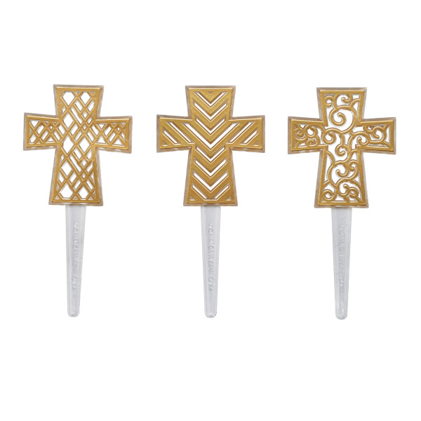 Gold Cross Assortment DecoPics®