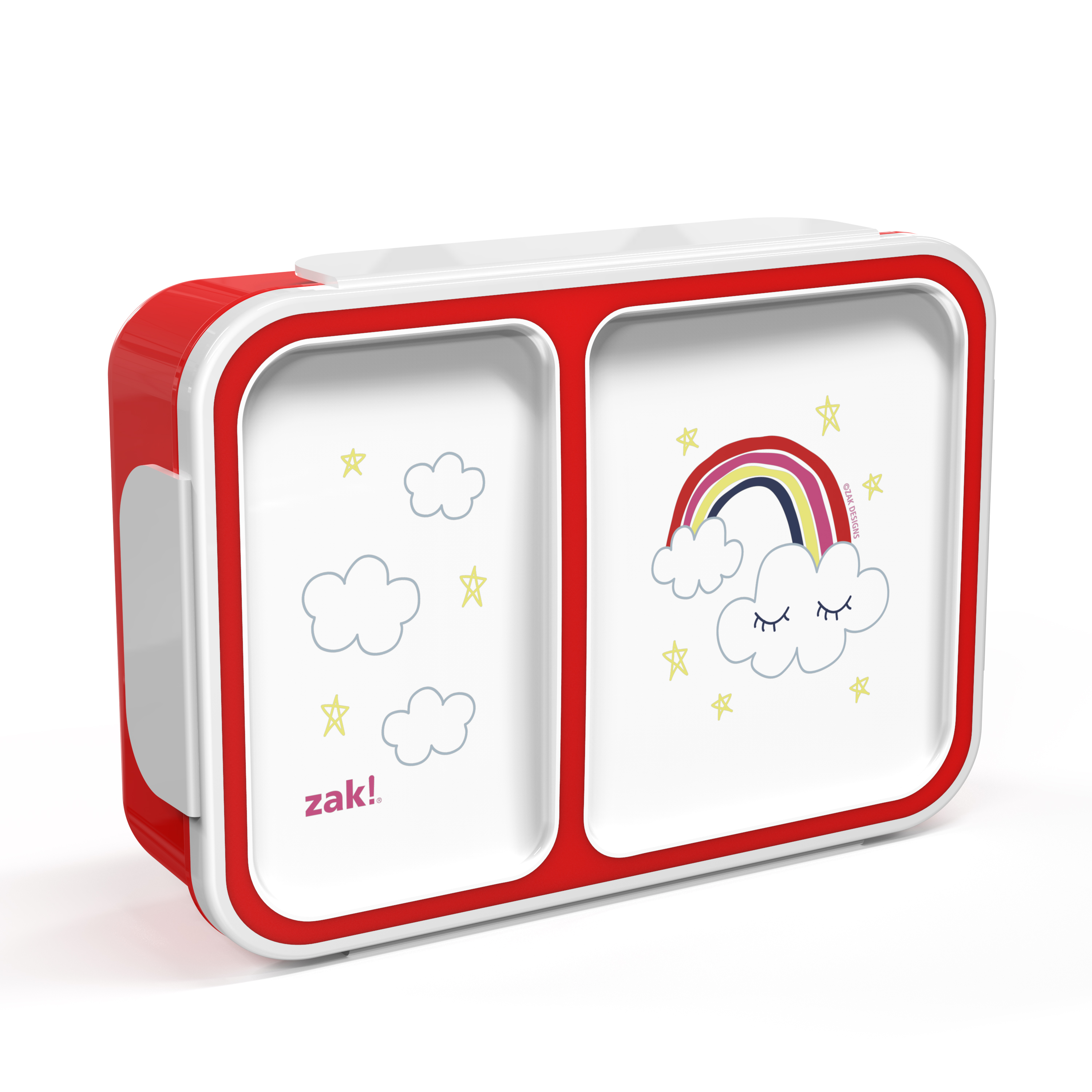 Happy Things Dual-compartment Reusable Bento Box, Clouds slideshow image 3
