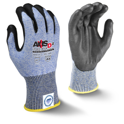 Radians RWGD104 AXIS D2™ Dyneema® Cut Protection Level A4 Touchscreen Glove