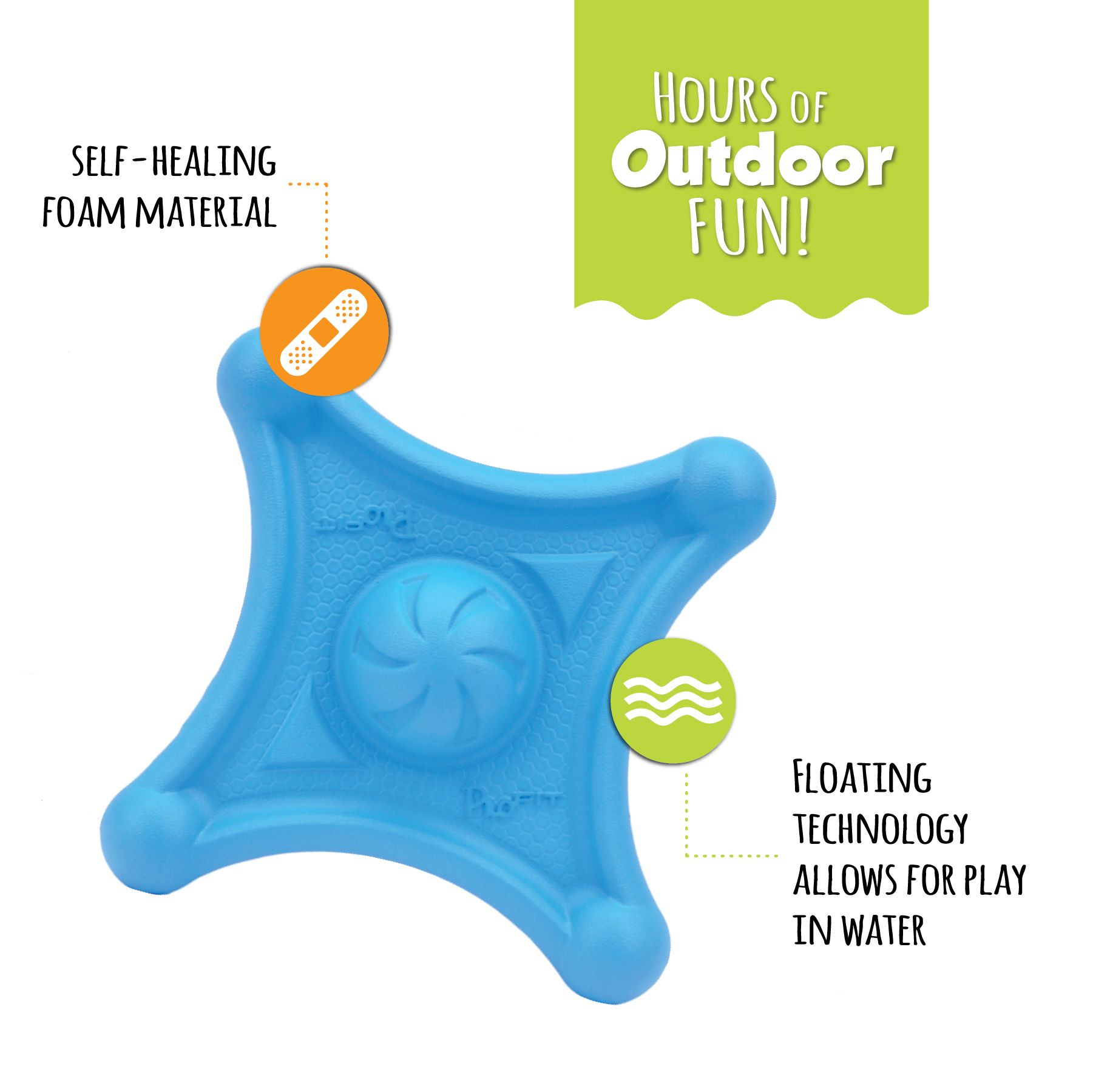 Pro™Fit Foam Toy Flying Jack