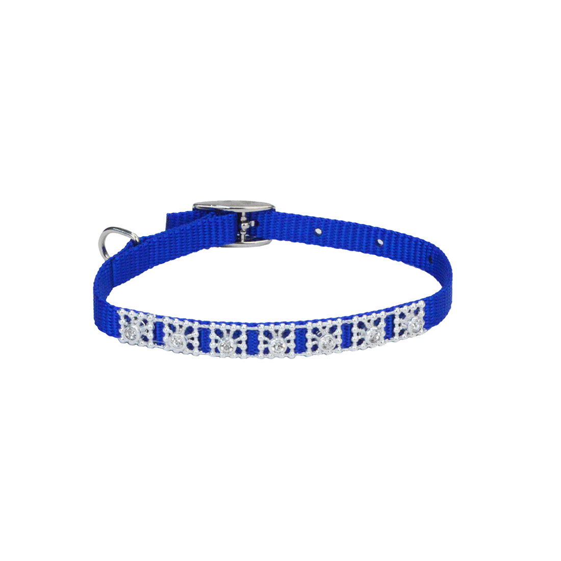 Li'l Pals® Jeweled Nylon Dog Collar