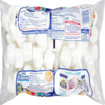 Kraft Jet-Puffed Regular Everyday Marshmallows 20 oz Wrapper