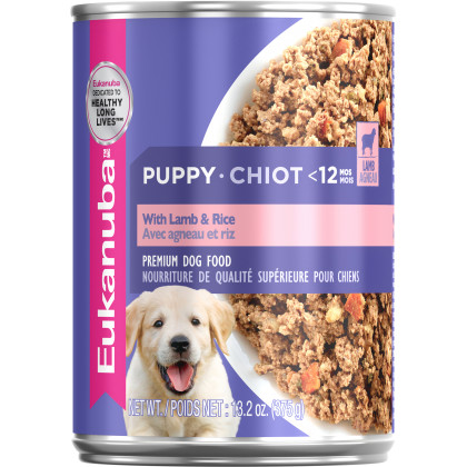 Puppy With Lamb & Rice Wet Dog Food