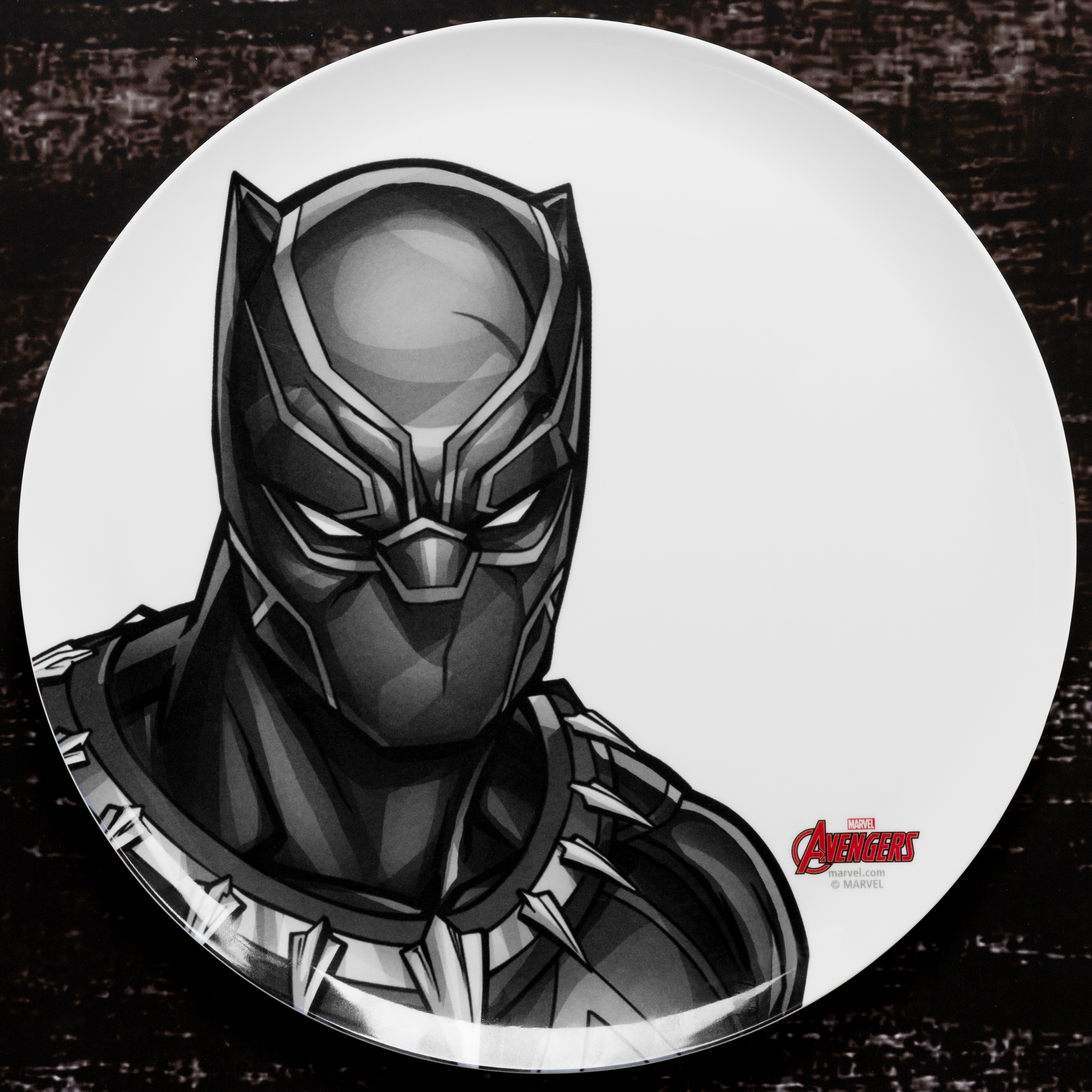 Marvel Comics Dinnerware Set, Black Panther & The Avengers, 2-piece set slideshow image 4