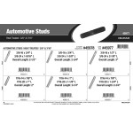 "Heat-Treated Automotive Studs Assortment (3/8"" & 7/16"")"