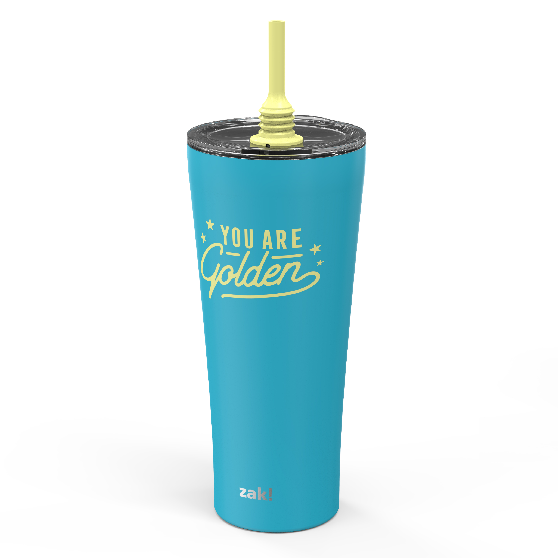 Alfalfa 30 ounce Insulated Tumbler, Blue slideshow image 4